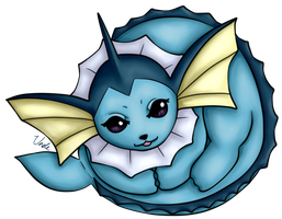 Pokeball - Vaporeon by UnoleSpirit
