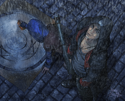This Rain must be Devil's work by Lady-Scythe