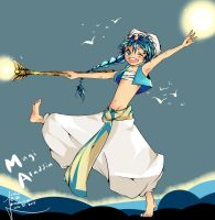 Magi: The Labyrinth of Magic Aladdin by erebos-light