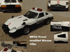 Prowl in his Nissan mode by lovefistfury