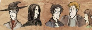 HP Sketches by sevenluck