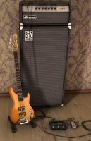 Bass and Amp by CrustedInk