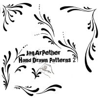Hand Drawn Patterns 2 by JagArPether