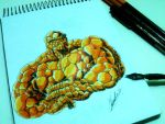 The Thing  Fantastic Four by CninArtwork