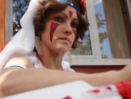 Strong Mononoke Hime by MotherBlessing