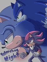 Werehog Night cover by AngelofHapiness