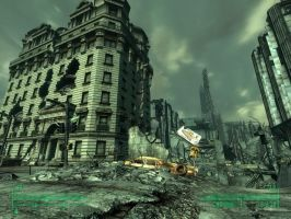Fallout 3 - Washington DC by Half-dude
