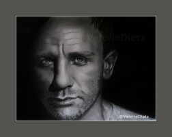 Daniel Craig by ValerieVally