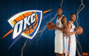 Durant and Westbrook by danielboveportillo
