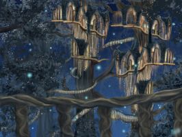 Lothlorien-background by Pridipdiyoren