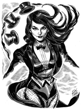 HeroesCon '12 pre-commission: Zatanna! by mysteryming