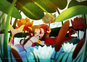 The fish and frog - arafef - Homestuck by TimelessHeaven