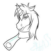 for Sandy--Apples :Uncolored: by Kinexuru