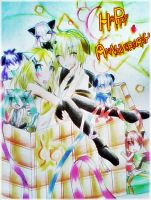 Anniversary of Kagamine-Twins by Zatsune-sama