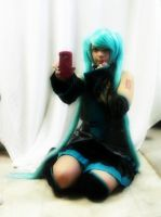 Shy Hatsune by PockyBoxxProductions