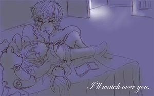 (Hetalia) Lullaby : I'll watch over you. by Hyperkaoru13