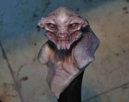 creature minibust by BOULARIS
