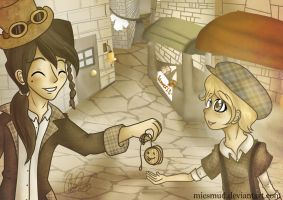 count anton and the villager by miesmud