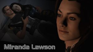 Miranda Lawson Wallpaper 03 by Cain69