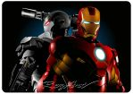 IRON MAN VECTOR FINAL WORK II by rezdwinn
