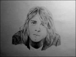 Kurt cobain by andrea-gatos