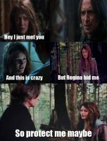 Rumbelle: Protect Me Maybe by LilMissPoison