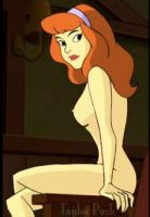 Nude study of Daphne Blake by dviant2