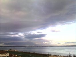 The Clouds and Me - The River Tejo 2008-11 by Kay-March