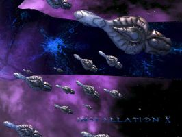 Covenant fleet by Twilightdonut
