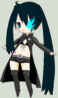 Black Rock Shooter by Ante-Litteram