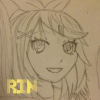 My Rin Drawing by Myindiansummer