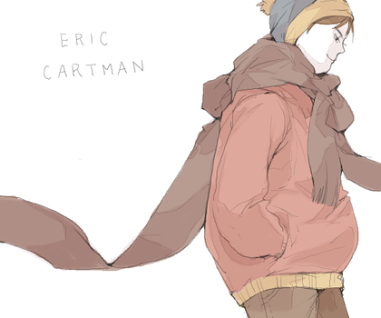 South Park Eric Cartman by jingerial