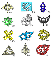 Symbol Compilation 62-73 by Pizaru-Chu