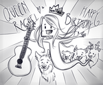 Bow down to the Birthday queen peasants by Wisperwynd