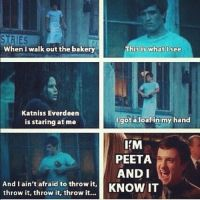 I'm Peeta and I know it. by xXGatomon