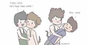 Ziam-Larry hybrids by milamint