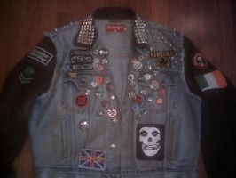 My Punk Jacket -front- by dogface701