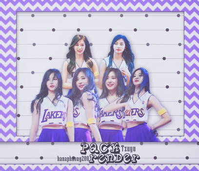 [PACK RENDER 52] TZUYU TWICE by hanaphuong200