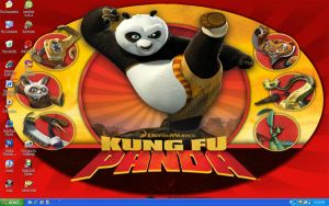 Second Kung Fu Panda desktop by SurfsUp07