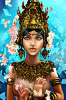 Apsara Dancer by victter-le-fou