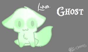 Ghost is cute by Alli-Chan95