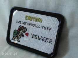 Bowser Cross Stitch by agorby00