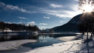 Winter in Norway by blumilein
