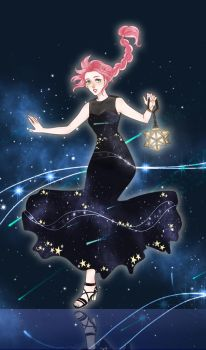Commission: Girl From the star by Alizena