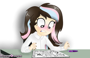 OMG, someone had opened mah diary! by The-Darkest-Desire