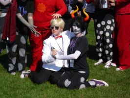 Dave and Gamzee by Wisher367