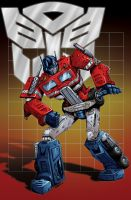 Optimus Prime colors by seanforney