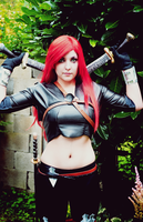 Katarina Cosplay by Dragunova-Cosplay