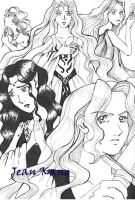 Women of Lord of the Rings by BlueJeans07