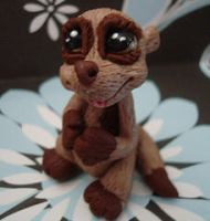 polymer clay ferrette by crazylittlecritters